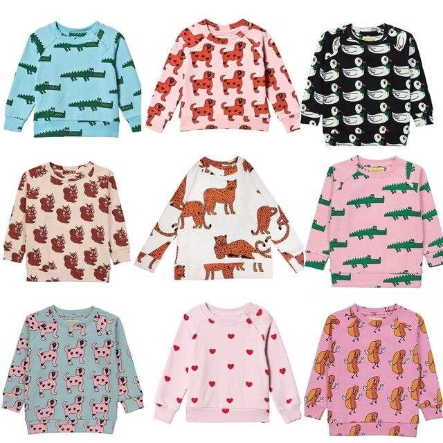 Hugo Loves Tiki Children's  Sweatshirt Boy Sweatshirt Hoodies For Kids Boys Clothes Toddler Girls Sweathshirt Clothing Cicishop
