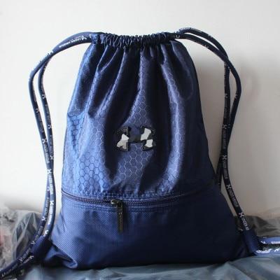 30268fabbc02 Famous Basketball Backpack Soccer Bags Women Men Waterproof Nylon String  JS54