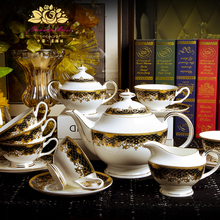 15 PIECES Bone china coffee cup European style tea cup ceramic English afternoon cup coffee set купить недорого в Москве