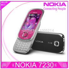 Refurbished Nokia 7230 handy 3.2MP Kamera Bluetooth FM JAVA MP3 Unterstützung Russische tastatur refurbished
