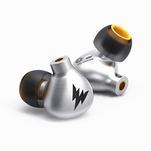 New Arrived Whizzer A15  All-metal in-ear Monitor Dynamic Earphones Hifi Bass Copper Earphone