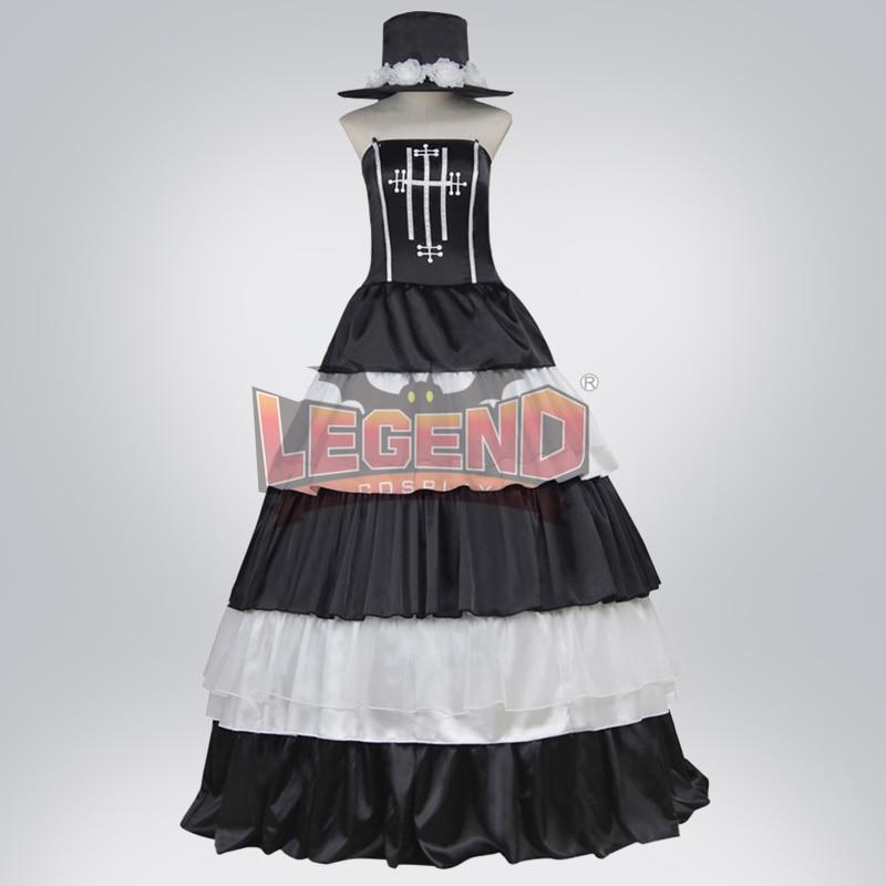 cosplay anime One Piece Perona adult costume Custom Made full set halloween women costume