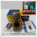 Handheld Color Pulse Oximeter with Adult SPO2 Probe and Bracket Portable Pulse Oximetro Free Shipping