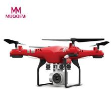 MUQGEW Brand Toys 6 Axis RC Helicopters With Gyro 2.4G WiFi FPV HD Camera Super RC Drone Precise Altitude Hovering control toy