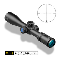 Discovery Hunting Riflescope VT T 4.5 18X44SFVF First focal plane FFP Optic Sight Airsoft scope Riflescopes Hunting game weapon