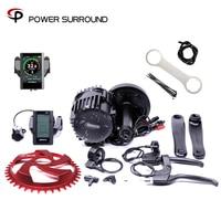 On bafang/8FUN BBS03 BBSHD 48V 1000W Ebike Electric bicycle Motor 8fun mid drive electric bike conversion kit