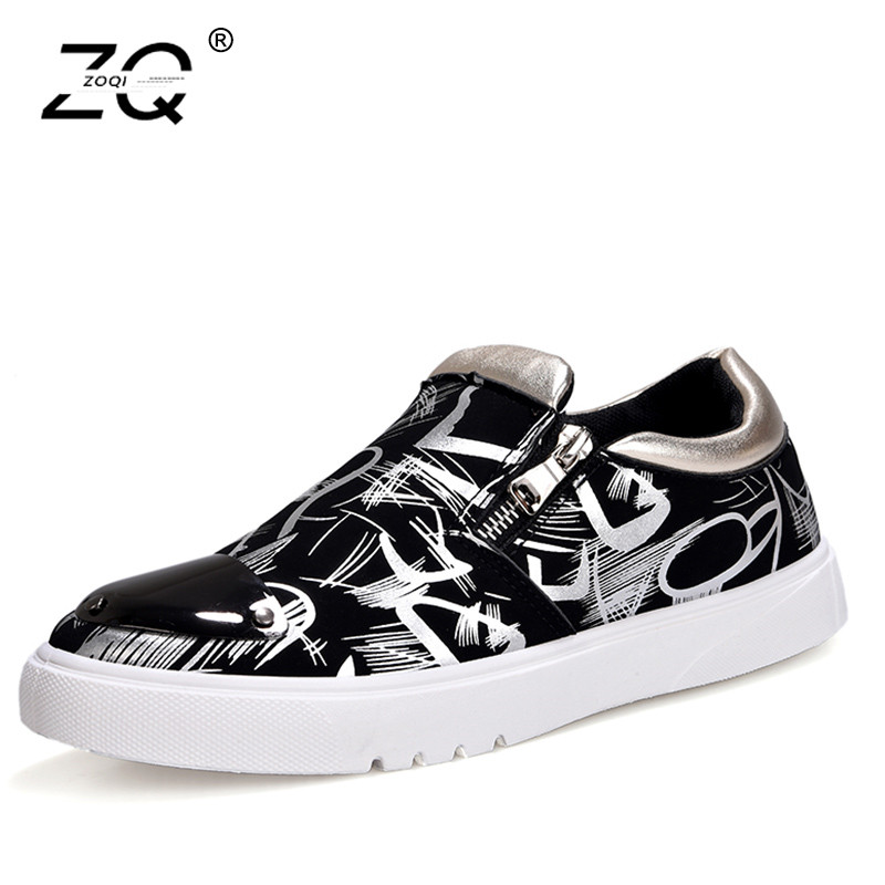 Mocassim silver Confortables Casual Black Zoqi Respirant Masculino Mocassins gold Hommes Nouvelle Chaussures Doux Sneakers Toile Semelle Mode v8r6qwRav