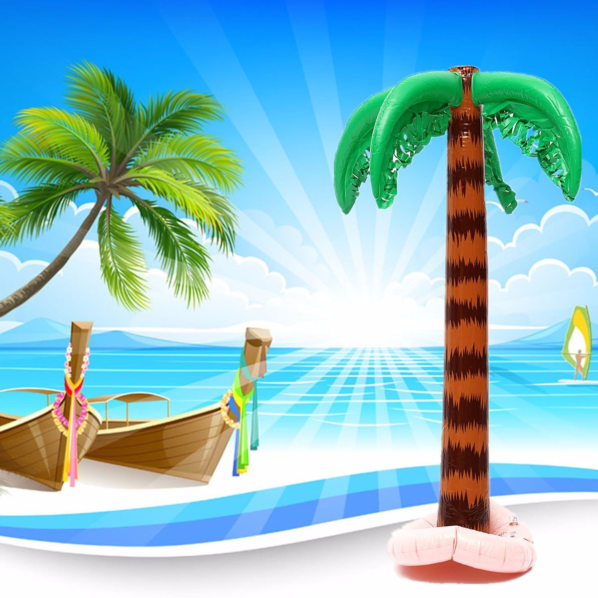 Online get cheap beach party decorations for Cheap beach decorations for the home