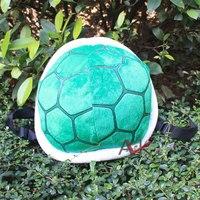 32 cm Super Mario Bros Kaplumbağa Kabuğu Ayarlanabilir Sırt Çantası Peluş Çanta Perakende Ücretsiz Nakliye