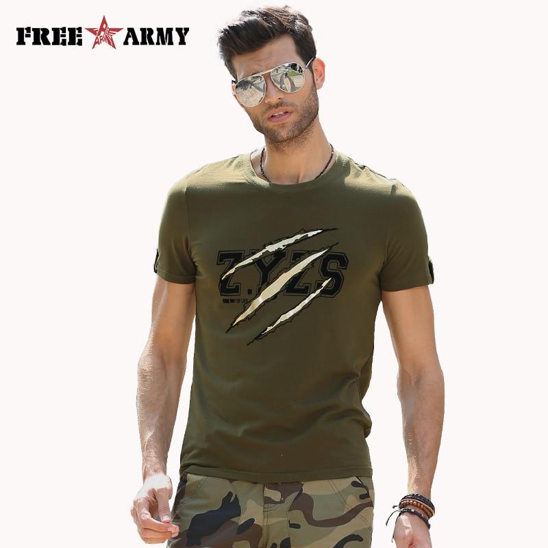 Aliexpresscom  Buy Mens T Shirt Fashion Brand Army -7254