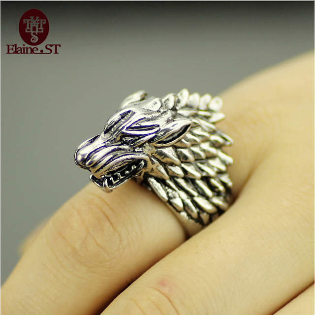 Mens Game of Thrones Ring High quality Metal Winter will coming