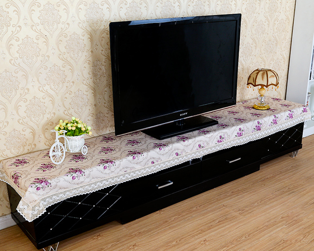 Custom TV Cabinet Coffee Table Desk Cover Cloth Shoe Flag Food Tablecloth  Towel Bar A Few Articles Teasideend