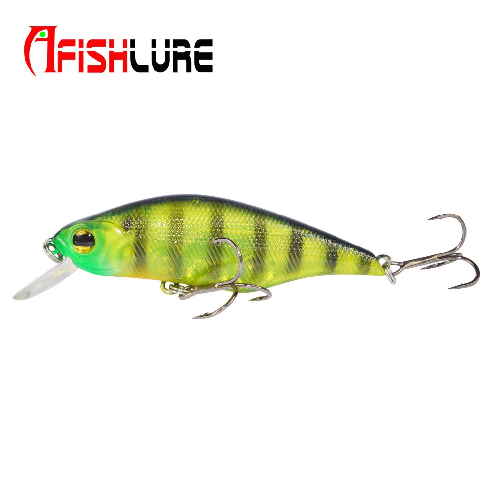 WALK FISH 1PCS Minnow Fishing lure 70mm//8g Swimbait Fishing Wobblers Iscas Ar...