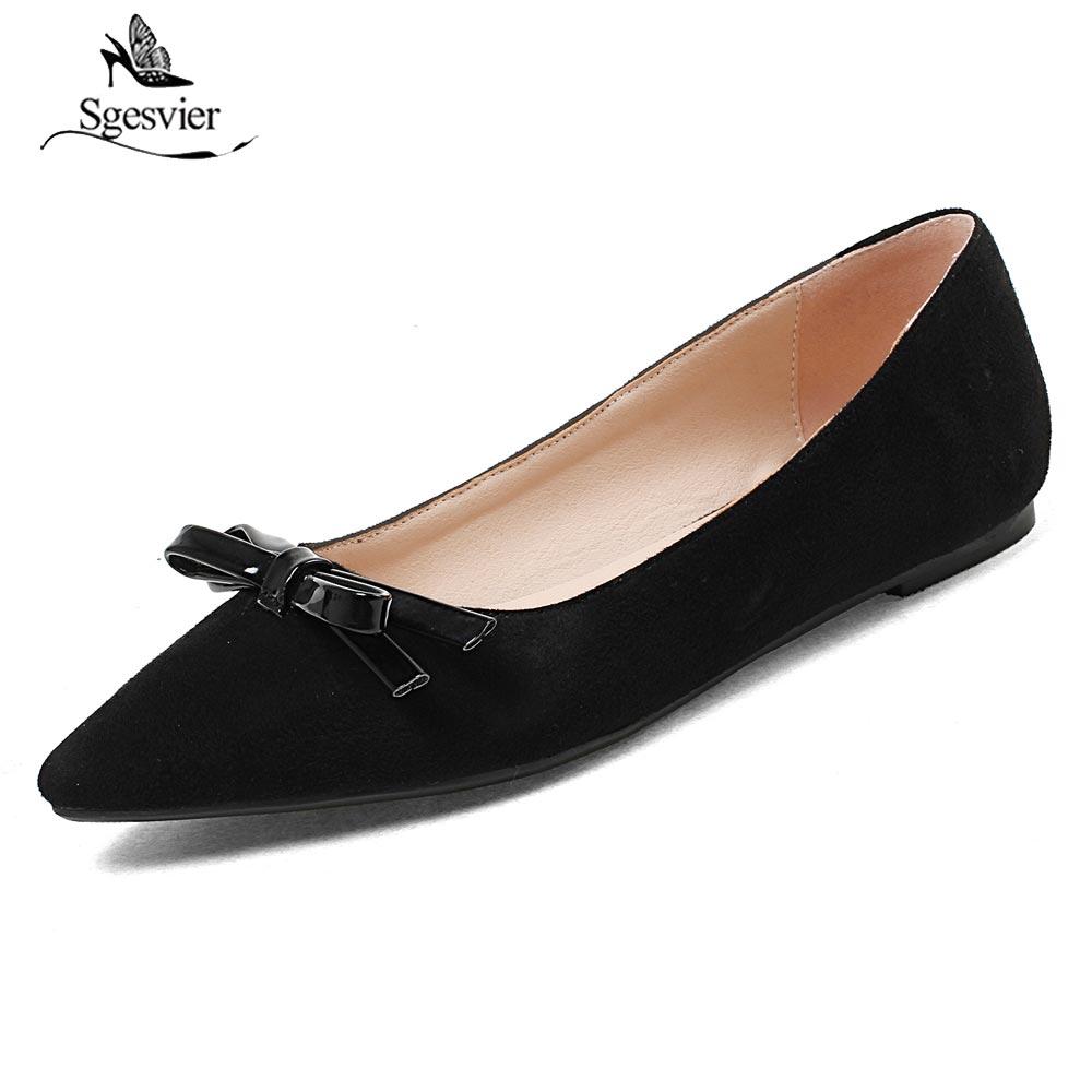 Automne black Plates Chaussures B280 Simple Beige Papillon Nouveau Taille Doux Nœud 44 Femmes Casual Noir rose Confortable Plat 32 Rose Sgesvier Beige 6qUftnRSp