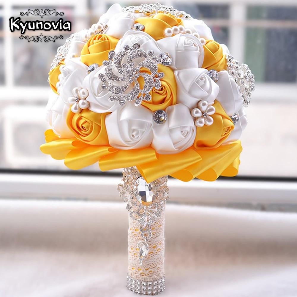 Kyunovia Cel mai bun preț Buchet de mireasă Buchet de mireasă - Accesorii de nunta - Fotografie 3