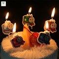5 PCS Thomas E Amigos Da Vela Vela Do Bolo de Aniversário Do chuveiro de Bebê Dos Desenhos Animados Thomas Fontes da Festa de Crianças Decoração Do Bolo Vela