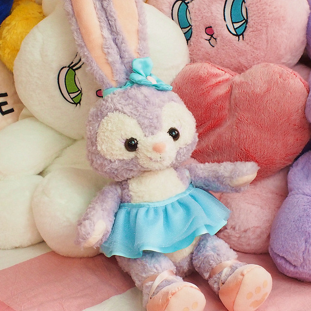 40cm Big Cute Stellalou Ballet Bunny Duffy New Friend Rabbit Stuff Plush Toy Doll Kids Birthday