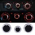 3PCS/Set Heater Dash A/C Switch Knobs Black Control Buttons For VW For Golf MK4 Passat B5 Bora