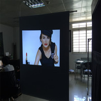 1.52x7m 4K Frant Projection Film for Touch screen PCT or IR technology
