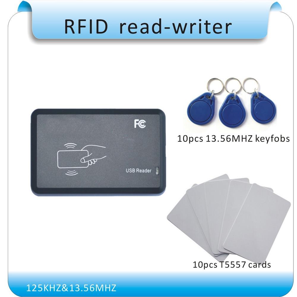 Dubbele werkfrequentie 125KHZ & 13.56MHZ RFID-schrijver / - Veiligheid en beveiliging