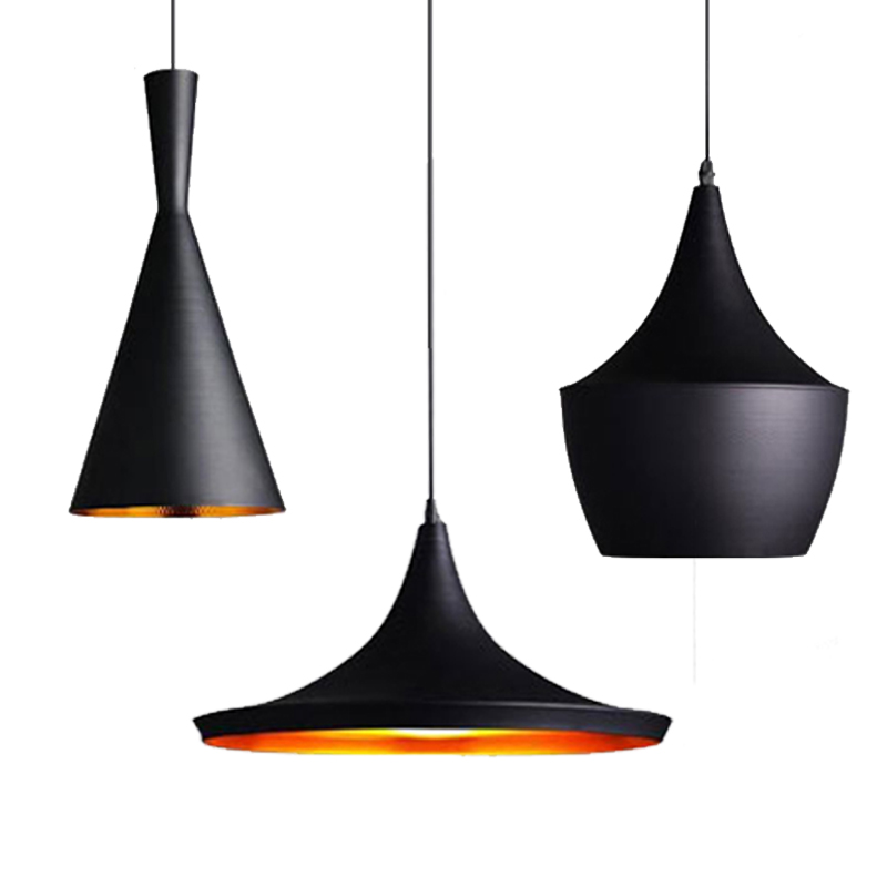 Modern Simple Aluminium Fashion Novelty Pendant Lamp Design Children Bedroom Restaurant Decration Copper Shade Pendant Light