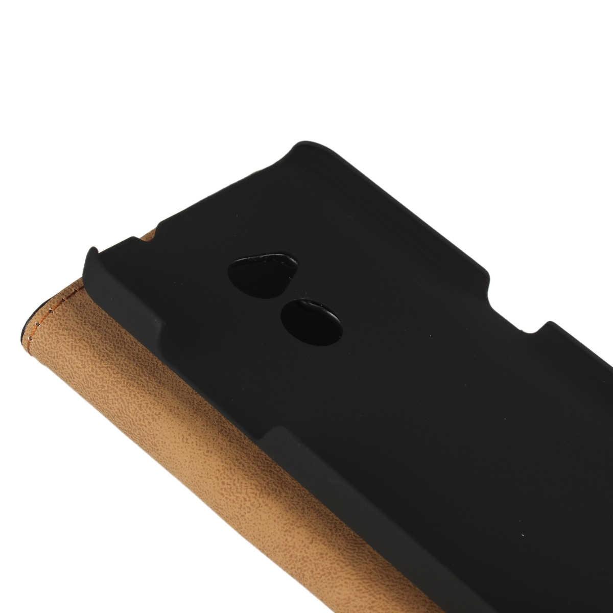 Premium Leder Flip-Cover Luxus Brieftasche Telefon fall Für ZTE Blade V7 Lite karte halter holster telefon shell GG