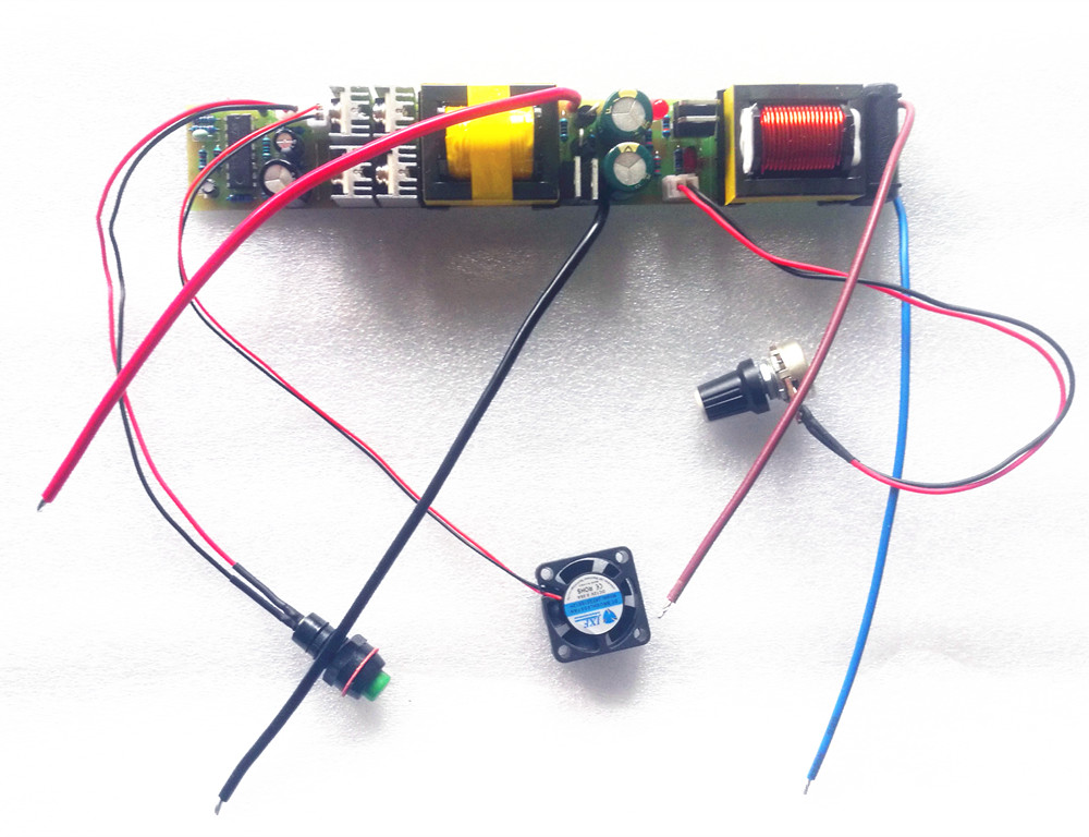 High Power Single Pole Machine Main Board 0 Pipe Integrated Rod Integrated Machine Mini Bar Inverter Fan Switch