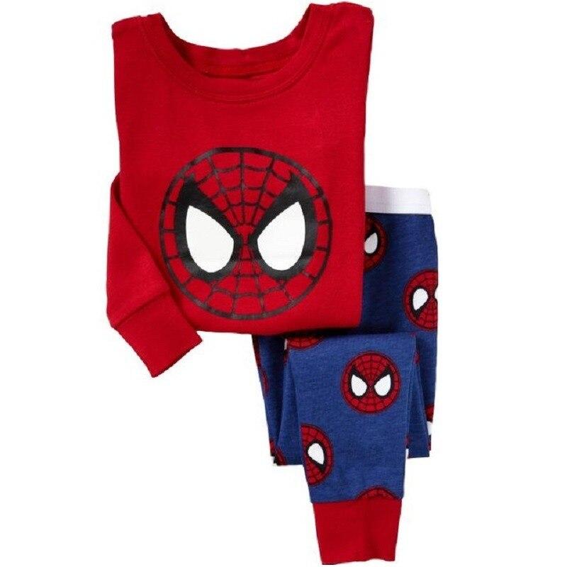 ad9a5a56fb Red Spiderman Del Bambino Dei Ragazzi Degli Indumenti Da Notte pijama Ragazzo  Pigiami per bambini pigiama