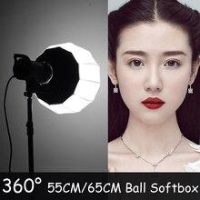 ASHANKS Bola Iluminación Difusor Softbox Estudio Bowens Montaje para Godox Speedlight de Destello Luz de Disparo y Fotografica Soft Box Set