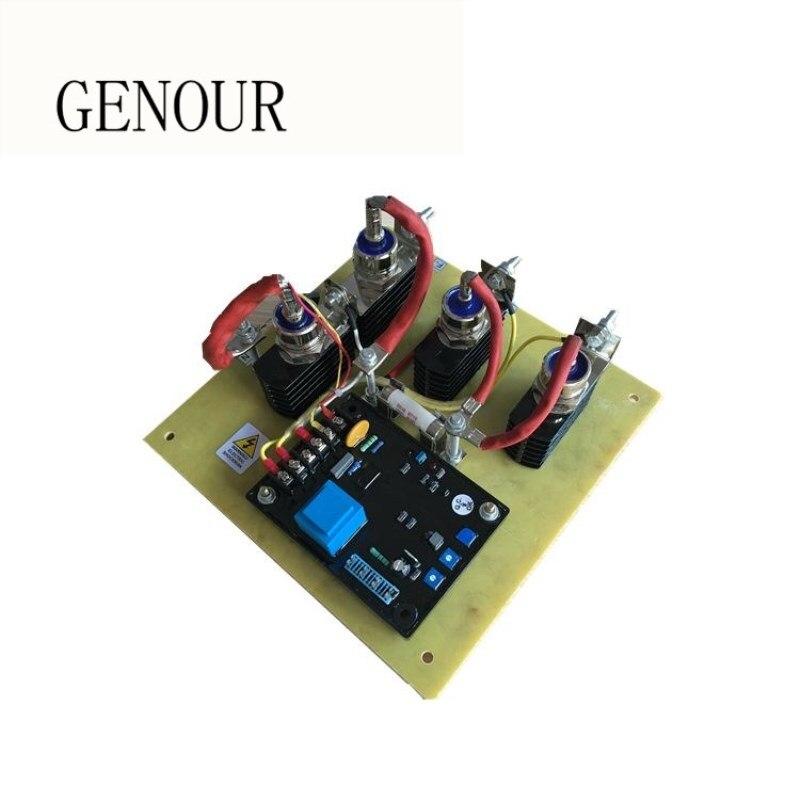 GAVR regolatore di tensione con il raddrizzatore 75A e diodo per la spazzola di carbone generatore diesel SAVRH75A 220 v MonofaseGAVR regolatore di tensione con il raddrizzatore 75A e diodo per la spazzola di carbone generatore diesel SAVRH75A 220 v Monofase