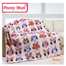 Baby Blanket Bebe-Aircon Sheet Warm Winter Kids Super-Soft Thick Child Multifunctional