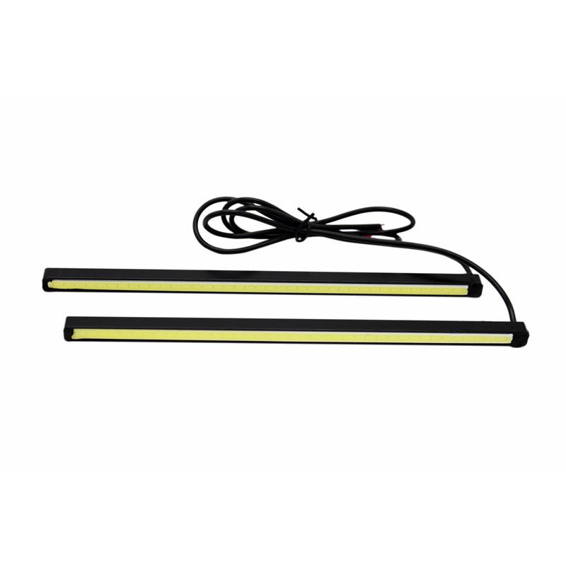 2stk / sæt SUNKIA nyt design 10cm / 15cm / 20cm DRL LED daglygter - Billygter