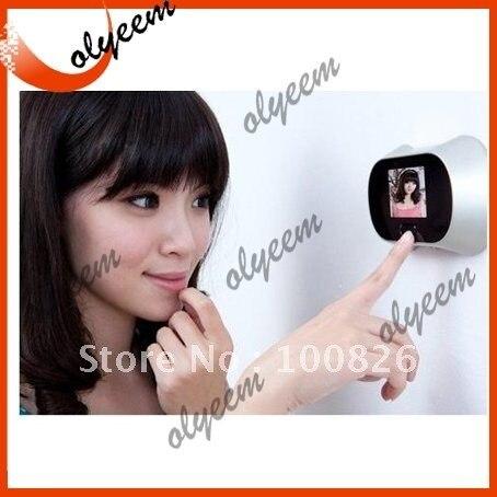 "Free shipping 2.5"" TFT Digital Peephole Viewer/door peephone viewer/peephole"