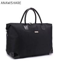 ANAWISHARE Women Travel Bags Large Capacity Men Luggage Travel Duffle Bags Shoulder Bags Waterproof Bolsa Esporte