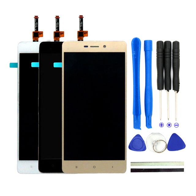 100% New For Xiaomi Redmi 3S Prime LCD Display + Touch Screen Replacement 5Inch For Xiaomi Redmi 3 3S Pro Parts With Free Tools