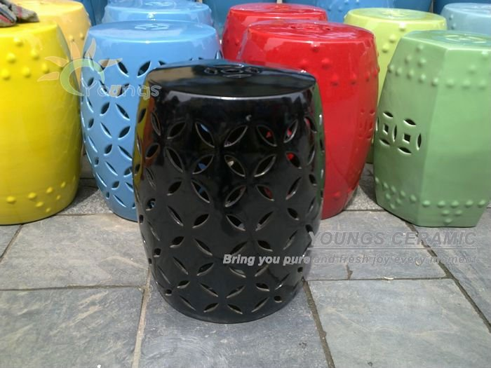 Jingdezhen Black Painted Ceramic End Table Stool In Stools Ottomans From Furniture On Aliexpress Alibaba Group