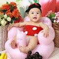 2016 Nova Inflável Ampliou Engrossado Rosa Amor Modelagem Cadeiras Sofá Inflável Fezes Do Bebê cadeira de Alimentação