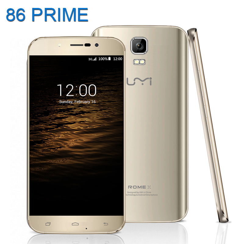 Original Umi Rome X Mobile Phone 5 5 inch Android 5 1 Lollipop Smartphone MTK6580 Quad