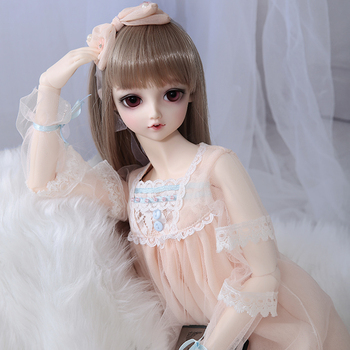 Free Shipping  Lieselotte 1/3 Doll BJD MSD High Quality Toys Shop Resin Ball Joint Doll Fullset including clothes wigs eyes 1