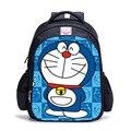 16 Pulgadas 3D Doraemon Escuela Bookbag Mochila Impresión Mochila Kids Niños de Dibujos Animados Niños Niñas Mochilas escolares Mochila Escolar 2017