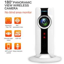 1080P font b Wireless b font IP Camera 180 Degree Panoramic Camera FishEye Night Vision Mini
