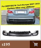 автомобиль-стайлинг glared Walk авто задний спойлер крыло для БМВ 1 серии e82 купе 128я 2008-2012