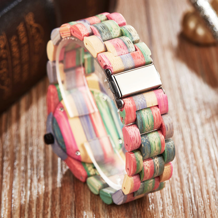 Colorido Faixa de Relógio relógios de Pulso