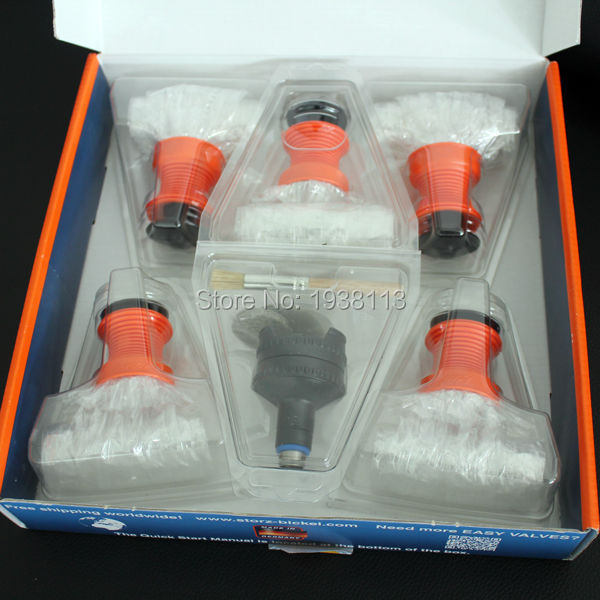 New Arrival Volcano Vaporizer Accessories Easy Balloon Kit Plastic Air Bags Full Free Shipping