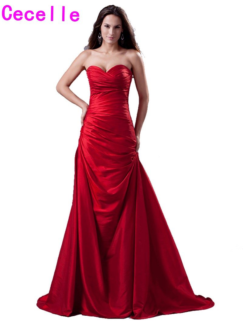 Popular Red Elegant Evening Gowns-Buy Cheap Red Elegant Evening ...