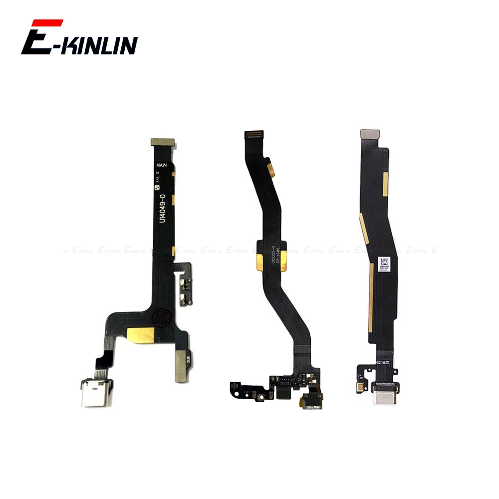 NEW Replacement Part For OnePlus X 1 2 3 3T 6 6T Type C USB Charger Charging Port Dock Connector Flex Cable-in Mobile Phone Flex Cables from Cellphones & Telecommunications