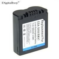DigitalBoy 1PCS CGA S006E CGRS006A CGR S006E CGR S006A 1B BP DC5U Camera Battery For PANASONIC