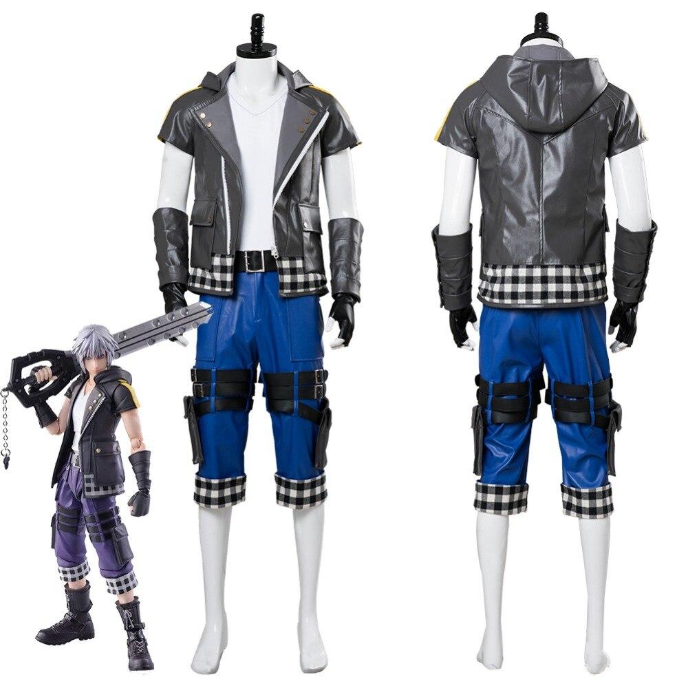 Kingdom Hearts III Riku Cosplay Costume Adult Men Women Halloween Carnival Costumes Custom Made
