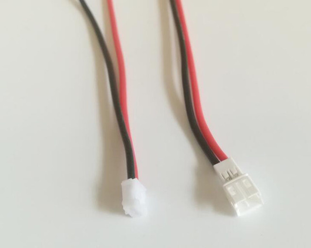 4Pairs/lot 10cm 22AWG PH2.0 Silicone Connector Power Cable Wire Male ...