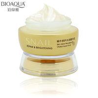 Professional Skin Care Brand BIOAQUA Snail Deep Moisturizing Face Cream Hydrating Anti Wrinkle Anti Aging Whitening